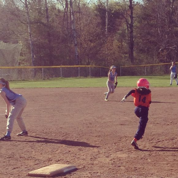 Zoe Stealing Second
