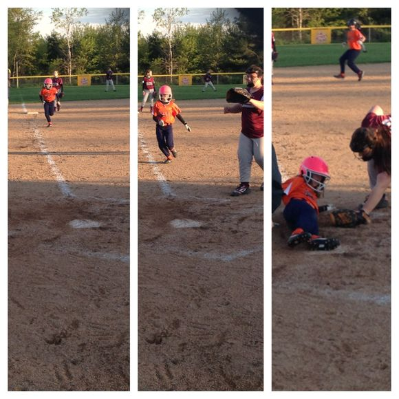 Zoe Steals Home